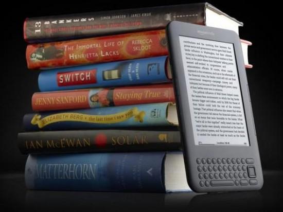 Kindle ou uma biblioteca?