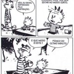 Calvin sobre criatividade