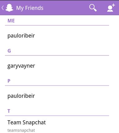 Print Celular Snapchat