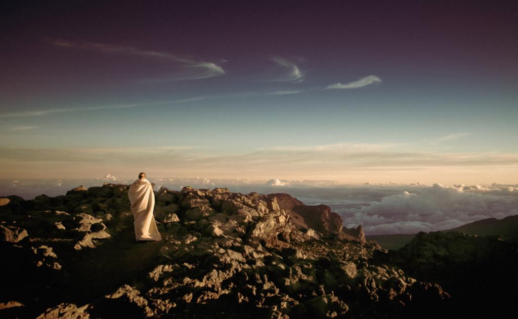 Monge em jornada espiritual