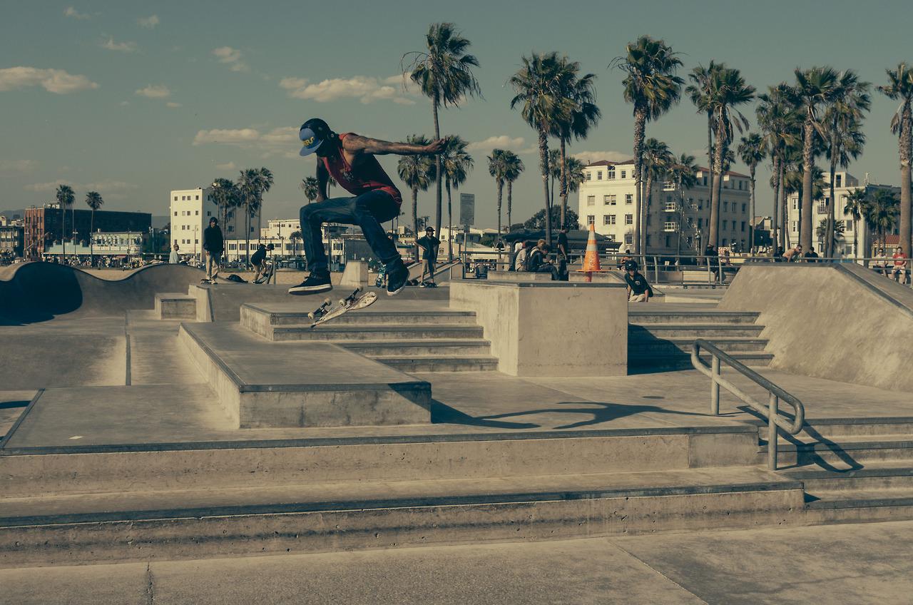 skate homem talento