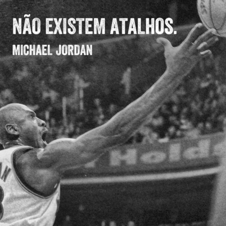 Michael Jordan sobre sucesso