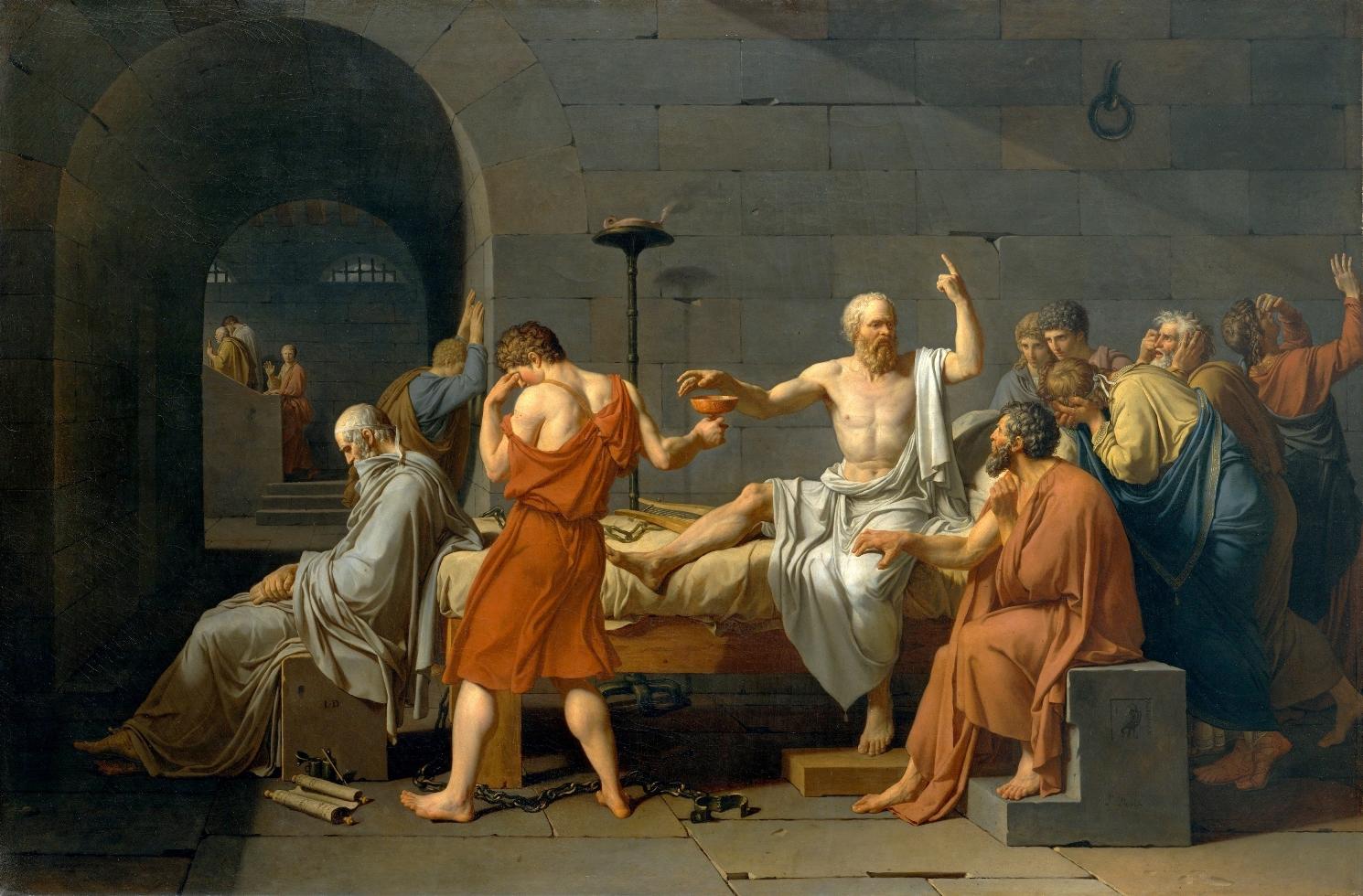 A morte de sócrates - David
