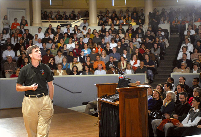 Randy Pausch - Kaylin Bowers/Daily Progress, via Associated Press